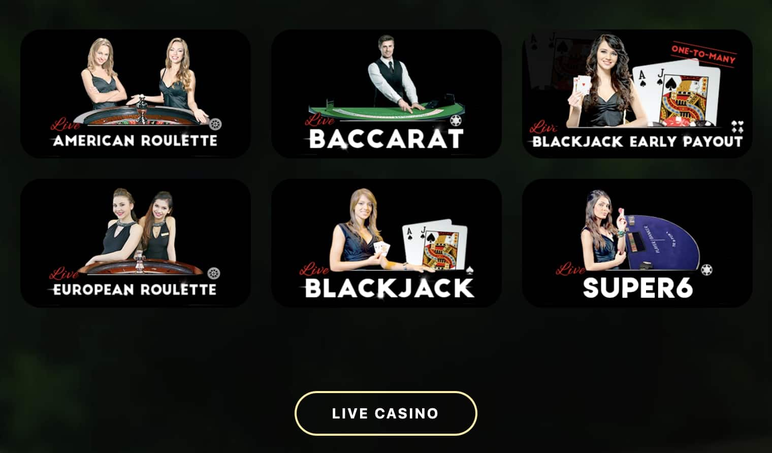 two up casino live dealer games